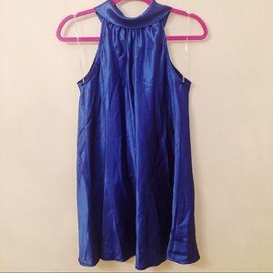 Forever 21 Shift Dress Blue Small